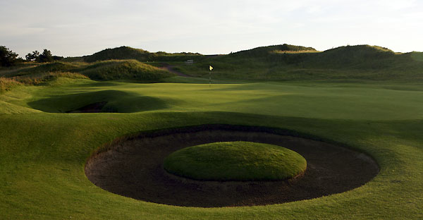The 7th hole at Royal Birkdale Golf Club.