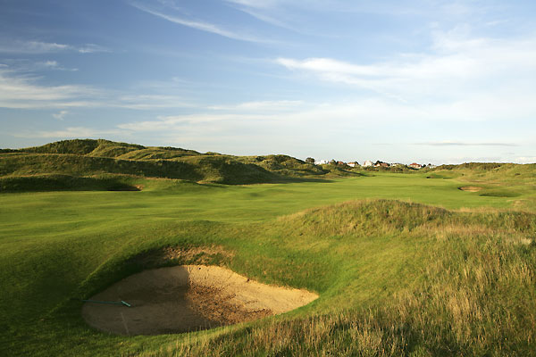 The 8th hole at Royal Birkdale Golf Club.