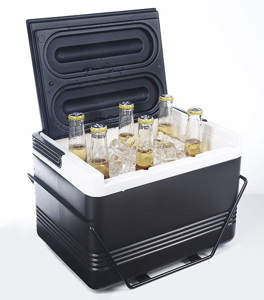 Legend 12 Fender Mount Cooler                                              The upside? Cold beer on call. The downside? Ticking off the cart girl. buggiesunlimited.com, $50.99
