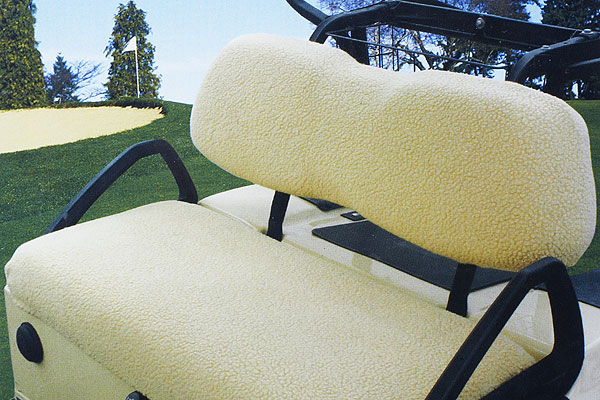 Classic Fairway Seat Cover                       Built to keep you cool in the summer and warm in the winter, this fleece cover will make you feel like you're lounging on a bed of sheep. nextag.com, $24.99
