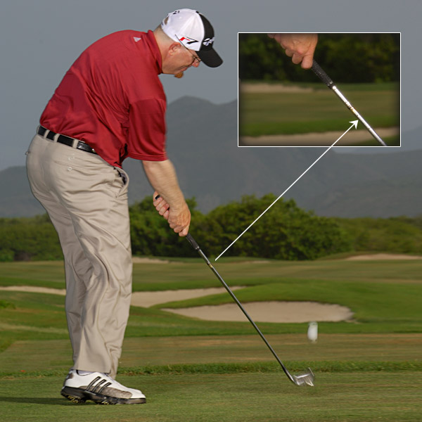 TRUST IT You've chosen the smart play. Now make a confident swing that accelerates to the finish.