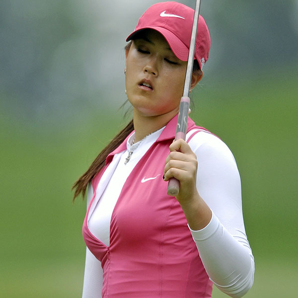 Michelle Wie had another high-scoring round to finish in last place at 21 over par.