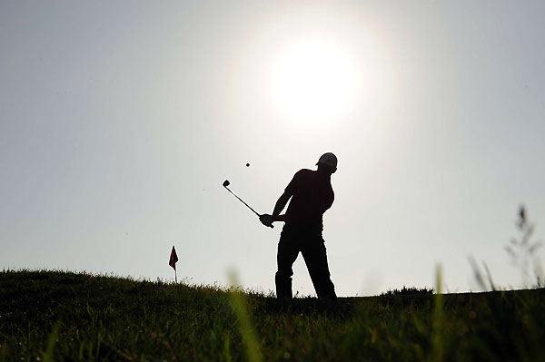 Players made 748 bogeys and 119 double bogeys in the first round.