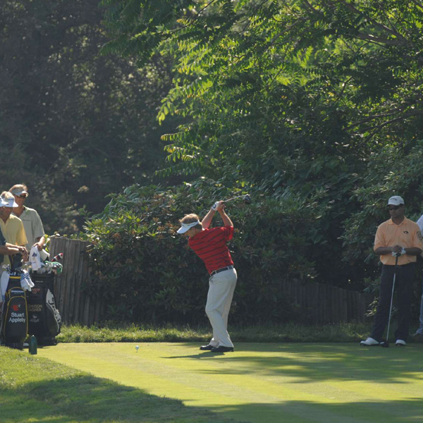 David Toms, who finished third at last week's Stanford St. Jude, tees off Tuesday.