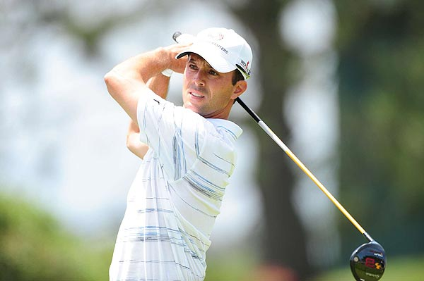 Mike Weir's 74 left him at five over par.
