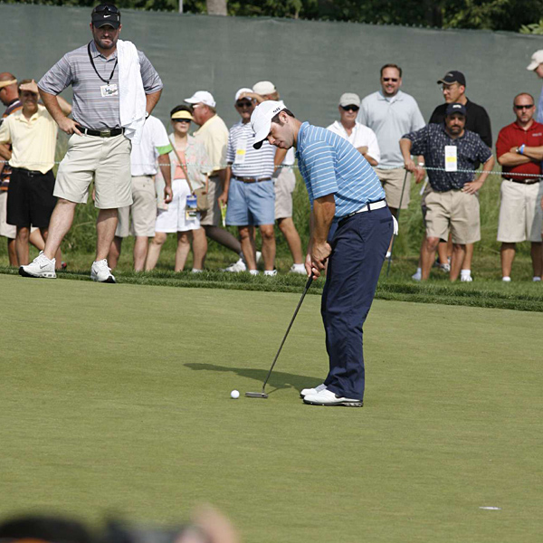Paul Casey finished five strokes off the lead last year.