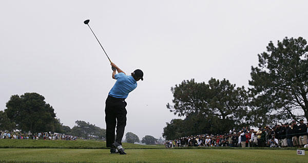 Sergio Garcia shot his second consecutive 70 to improve to three over for the tournament.