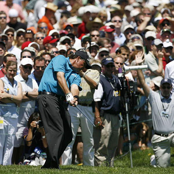 """That stretch did me in,"" Mickelson said of the four-hole slide that began on No. 7."