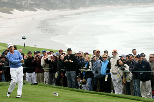 received a special exemption to the U.S. Open this year. Watson won the 1982 U.S. Open at Pebble Beach.