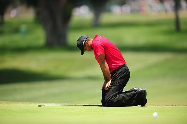 In the Monday playoff, Woods missed an eagle opportunity on the 18th hole that would have given him the win. He made birdie to force a sudden-death playoff, which started on the seventh hole.