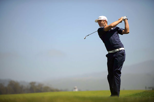 won the last two PGA Tour events at Pebble Beach, and he is in position to contend this week after an even-par 71.