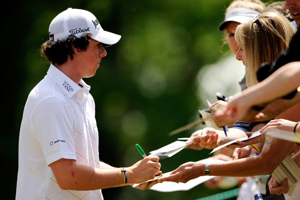 Rory McIlroy, 20, is making his first start in a U.S. Open.