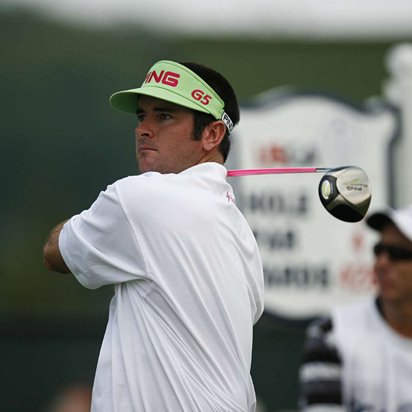 Despite his up-and-down week, Bubba Watson finished tied for fifth.                                                      Related Links                                                      • Bubba and Boo: Pride of the Panhandle