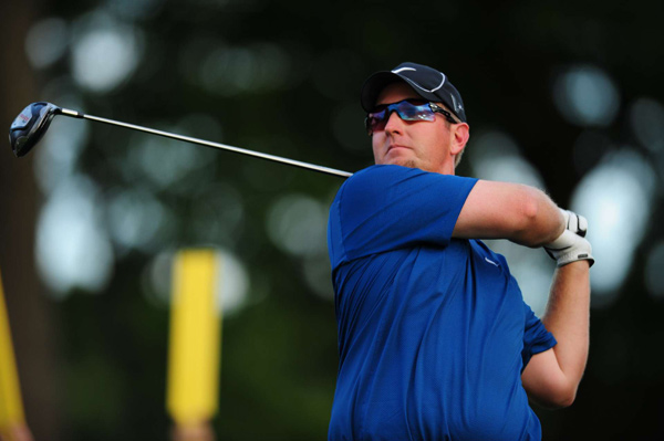 After an opening 67, David Duval stumbled with four early bogeys. He rebounded with birdies on Nos. 7 and 11.