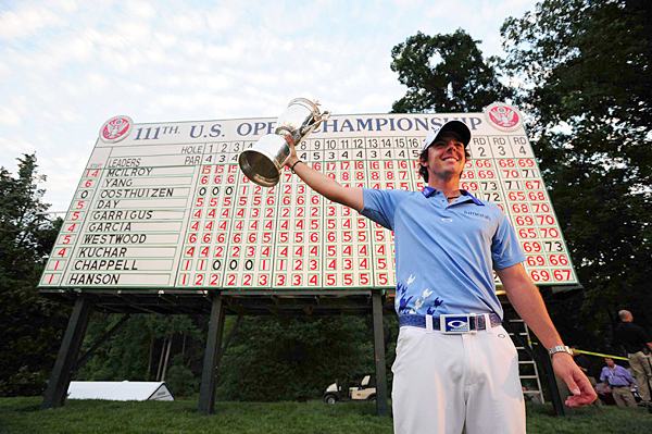 Rory McIlroy shot a final-round 69 to win the U.S. Open by eight strokes.