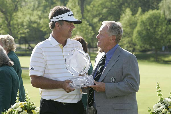 Final Round of the Memorial Tournament                           Kenny Perry won the Memorial Tournament for the third time on Sunday.