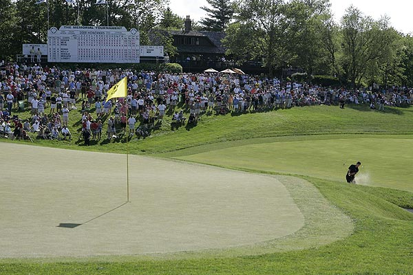 Mike Weir was also in contention in the final round, but finished two strokes off the lead.