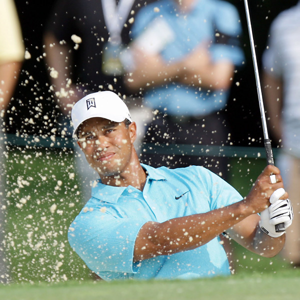 "Woods had a decent round going until a double bogey on No. 17. He recovered with a birdie on 18. ""I just have to make more putts, simple as that,"" Woods said. ""I'm hitting it good enough and putting myself in position to make those putts, and I just haven't got it done."""
