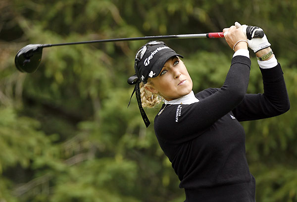 Natalie Gulbis made four birdies and a bogey for a 69.