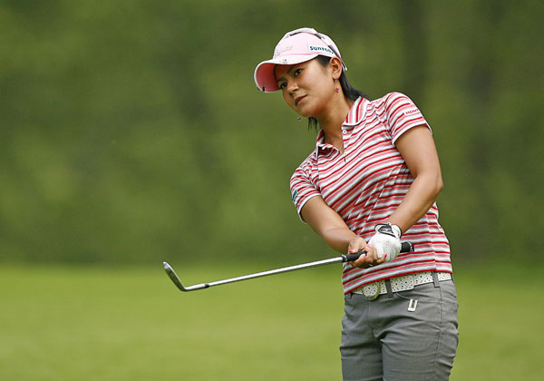 Ai Miyazato shot a one-under 71.