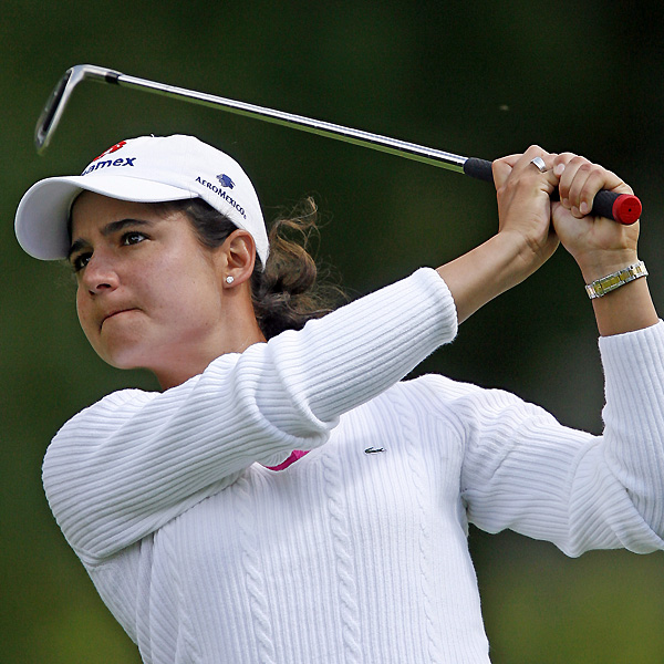 World No. 1 Lorena Ochoa shot a 71, and trails the leaders by three shots.