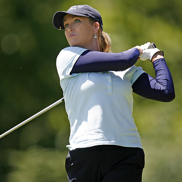 Cristie Kerr finished four shots back after a two-under 70.