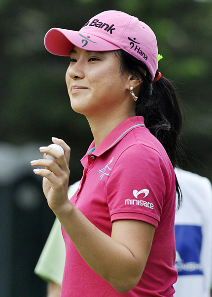 Hee Young Park opened with a bogey, but she rebounded with four birdies.