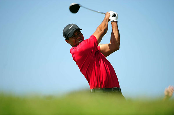 3. Is Tiger going to lose distance off the tee? No.