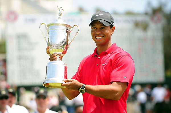 A Good Year For ...                       Perseverance                       Tiger Woods wins the U.S.                       Open on a broken leg. That's                       like winning the Daytona 500                       with a flat tire. Or the Boston                       Marathon with a spare tire.