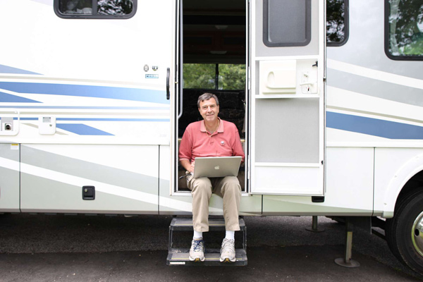 Jack McCallum Spends the U.S. Open in an RVSI's Jack McCallum spent the People's Open with the people, filing a series of stories from an RV in the Battle Row Park Campgrounds near Bethpage Black.