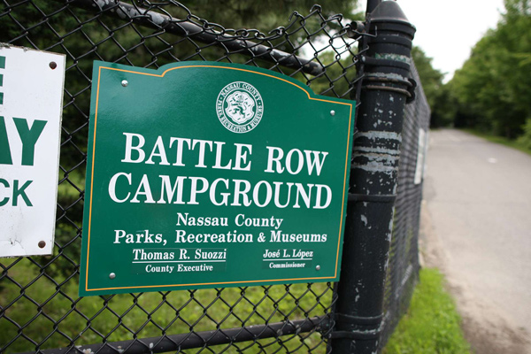 Battle Row Campground sits on 44 acres in Nassau County.