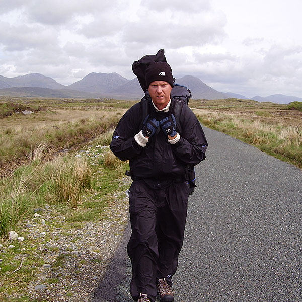 Coyne started to feel the pain on the road to Connemara.                                              Course Called Ireland: The Luckiest Suffering Golfer in the World