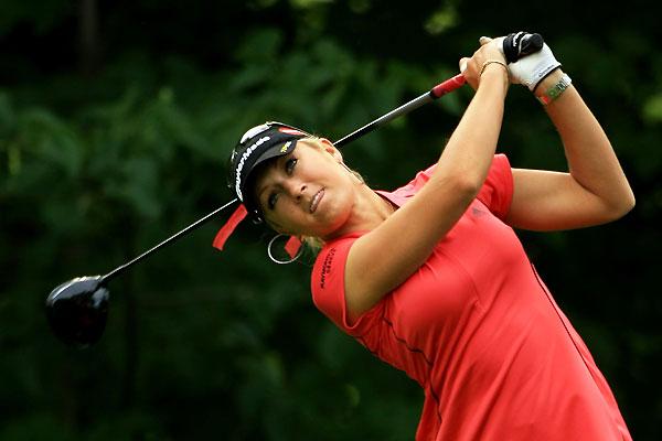 Gulbis at the 2008 U.S. Women's Open.