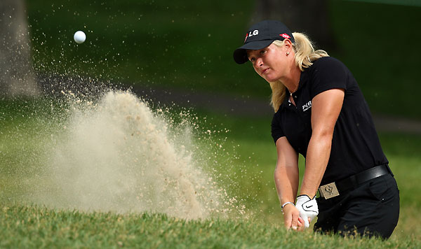 Suzann Pettersen has three top five finishes this year but no wins.