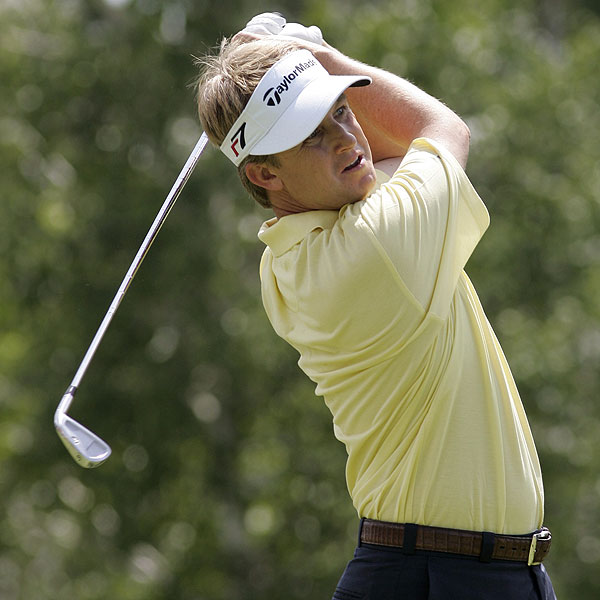 David Toms finished seven strokes off the lead at eight under par.