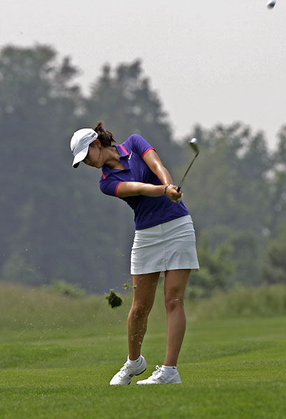 Wie got off to a good start in 2008, finishing sixth at the Ladies German Open.