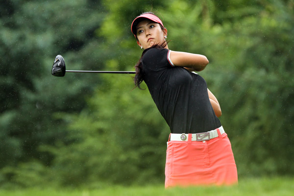 Michelle Wie shot a three-over 75 for a total of six over.