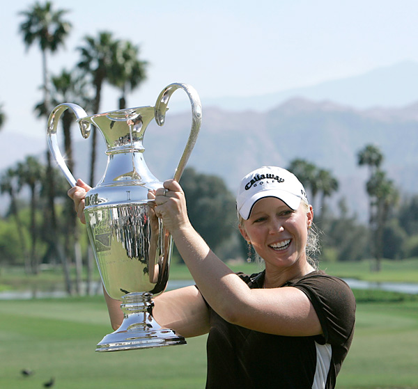 Morgan Pressel                           Tournament: 2007 Kraft Nabisco Championship                           Age: 18