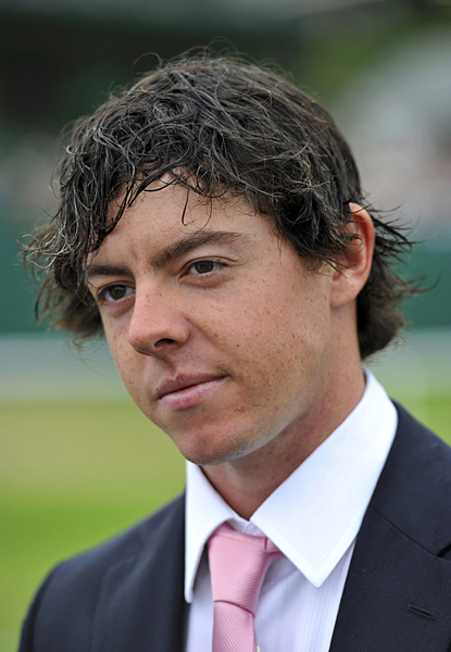 is still taking time off after his victory at the U.S. Open. McIlroy jetted down to London Tuesday to take in the tennis matches at Wimbledon.Rory McIlroy took time off after his victory at the 2011 U.S. Open to attend Wimbledon.