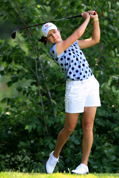 Lorena Ochoa has yet to break par this week after rounds of 73, 74, and 76.