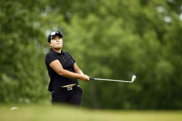 Inbee Park shot a two-under 71.