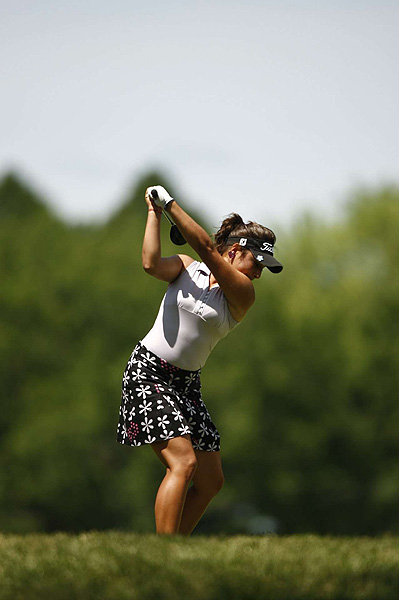 Amateur Maria Jose Uribe finished at two under par.