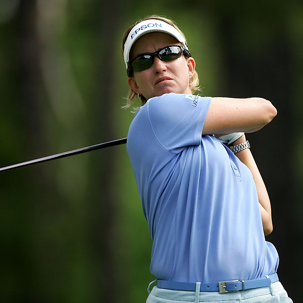 Karrie Webb shot rounds of 83-71 to miss the cut.