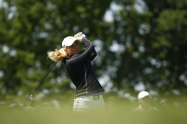 Suzann Pettersen finished the day at 10-under par. She has yet to make a bogey this week.