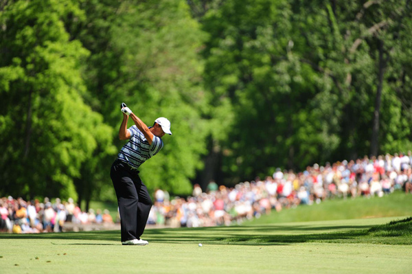 Second Round of the Memorial                       Tiger Woods struggled on Friday, finishing with a 2-over 74.