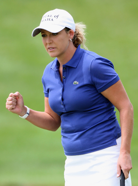 Third Round of the State Farm Classic                                                      Cristie Kerr eagled No. 1 on her way to a 6-under 66 and a share of the lead with Kristy McPherson.