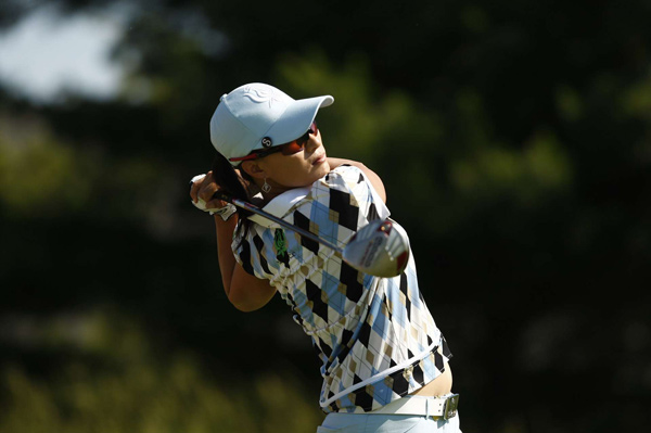 Se Ri Pak made four birdies and four bogeys on Saturday.