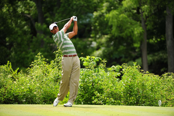 Third Round of the Memorial                       Tiger Woods moved to within four strokes of the lead after a 4-under 68.