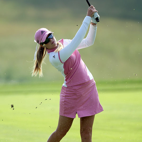 Paula Creamer finished with a one-under-par 71.