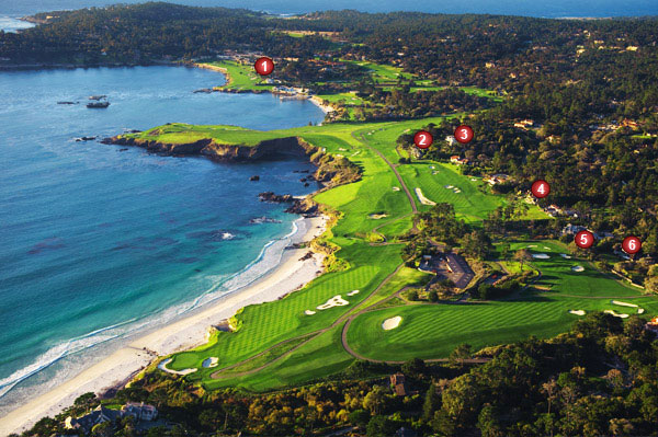 It's one thing to play Pebble Beach Golf Links, but quite another to live there. Take a look at some of the million-dollar homes at Pebble Beach.                                              *Property values were determined by a veteran Pebble Beach realtor. They are strictly estimates based on current market conditions. Asking prices were accurate as of April 20.